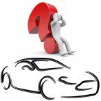 Peugeot és Citroen bicskakulcs ház - 4 gombos elemtartó nélküli - HU83