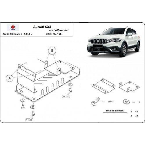 Suzuki SX4, 2016-2020 - Differenciálmű védő lemez