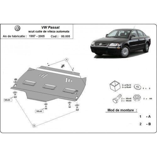 VW Passat, B5, 1997-2005 - AUTOMATA váltóvédő lemez