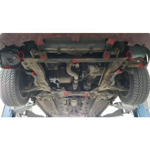 Alfa Romeo 159, 2004-2011 - Acél Motorvédő lemez