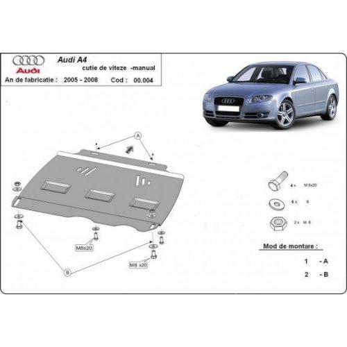 Audi A4, 2005-2008 - MANUÁL váltóvédő lemez
