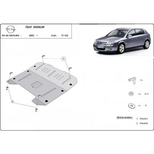 Opel Signum, 2002-2020 - Acél Motorvédő lemez