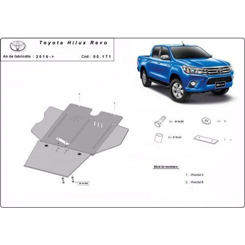 Toyota Hilux Revo, 2016-2020 - Váltóvédő lemez