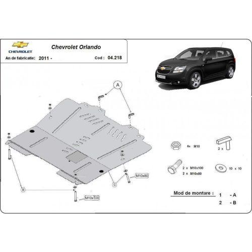 Chevrolet Orlando, 2011-2020 - Motorvédő lemez