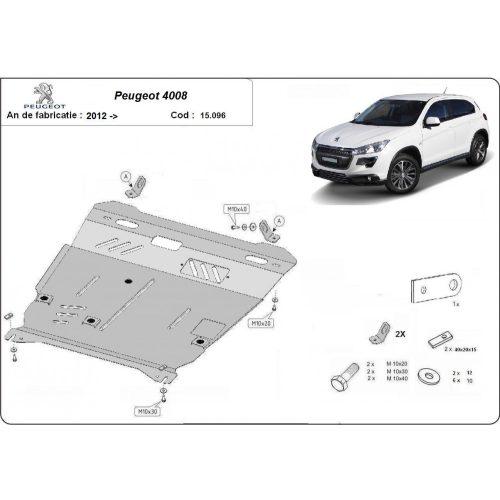 Peugeot 4008, 2012-2020 - Motorvédő lemez
