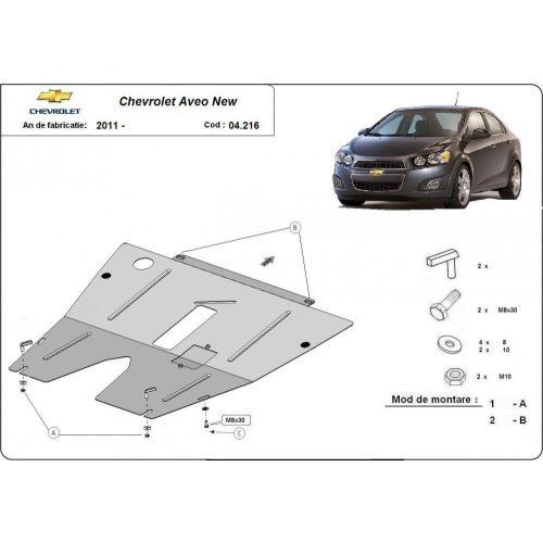 Chevrolet Aveo, 2011-2020 - Motorvédő lemez