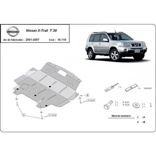 Nissan X-Trail, 2001-2007 - Motorvédő lemez