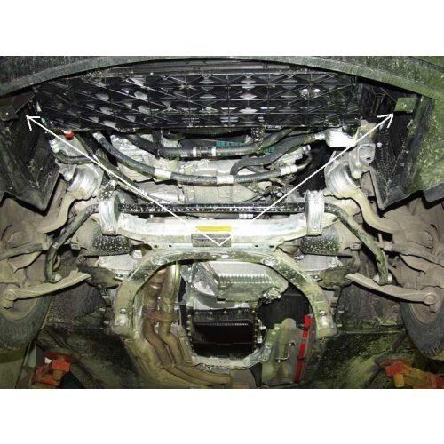 BMW 5 E60/E61 2003-2010 - Acél Motorvédő lemez