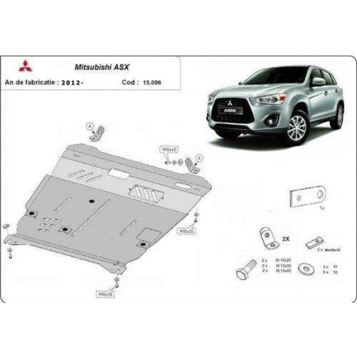 Mitsubishi ASX 2012-2020 - Acél Motorvédő lemez