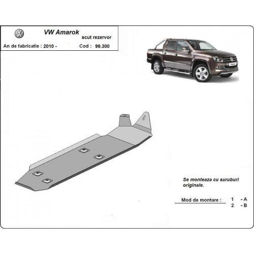 VW Amarok, 2010-2020 - Üzemanyagtank védő