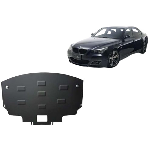 BMW 5 E60/E61 2003-2010, M lökhárító - Acél Motorvédő lemez