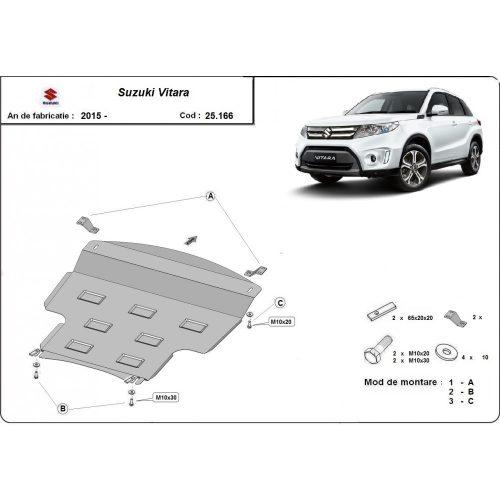 Suzuki Vitara 2015-2021 - Acél Motorvédő lemez
