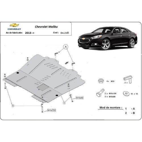 Chevrolet Malibu, 2013-2020 - Acél Motorvédő lemez