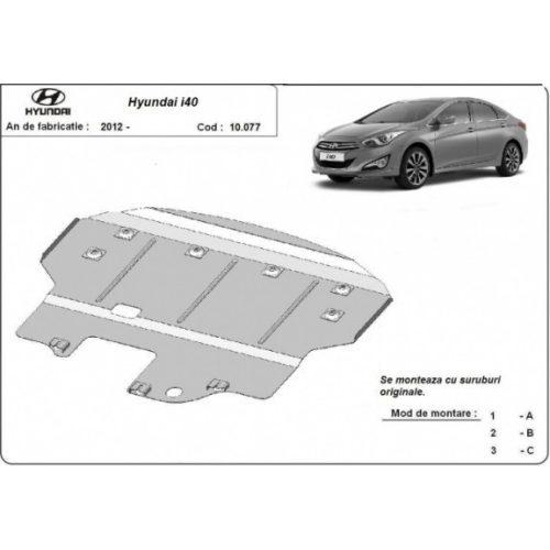 Hyundai I40 2012-2015 - Motorvédő lemez