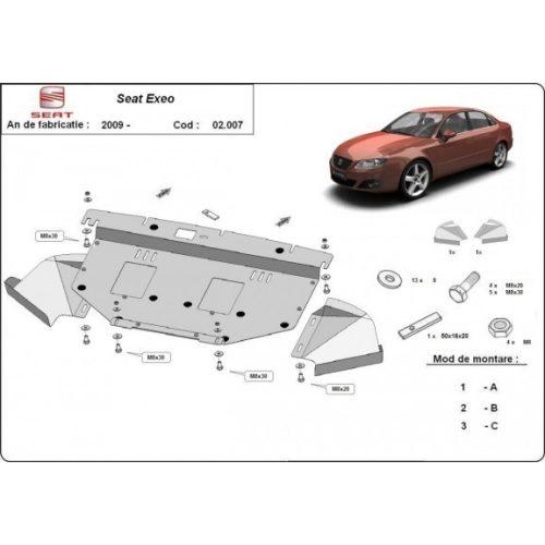Seat Exeo, 2009-2020 - Motorvédő lemez