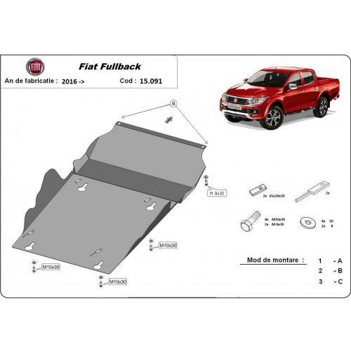 Fiat Fullback, 2016-2020 - Motor és váltóvédő lemez