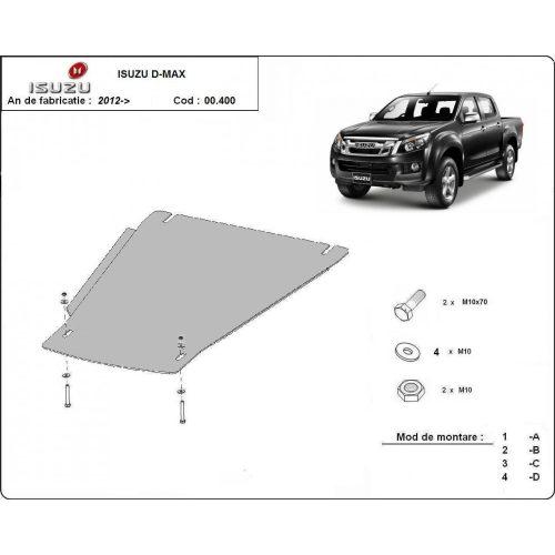 Isuzu D-Max, 2012-2020 - Acél Váltóvédő lemez