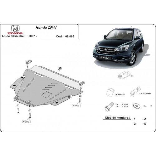 Honda CRV, 2007-2020 - Acél Motorvédő lemez