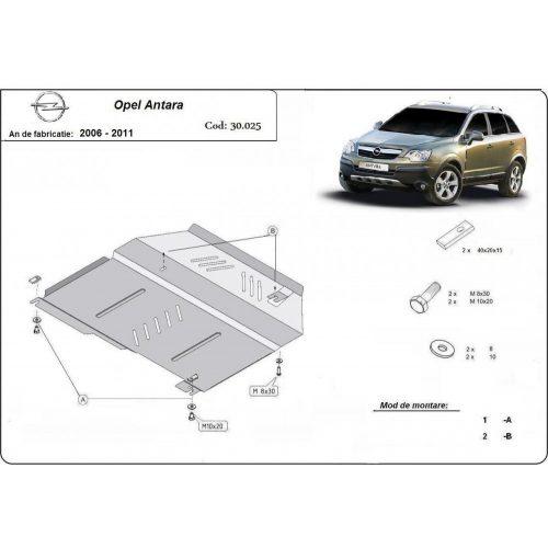 Opel Antara, 2006-2010 - Acél Motorvédő lemez