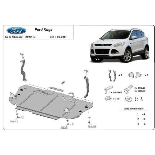 Ford Kuga 2013-2020 - Acél Motorvédő lemez