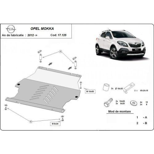 Opel Mokka 2012-2020 - Motorvédő lemez