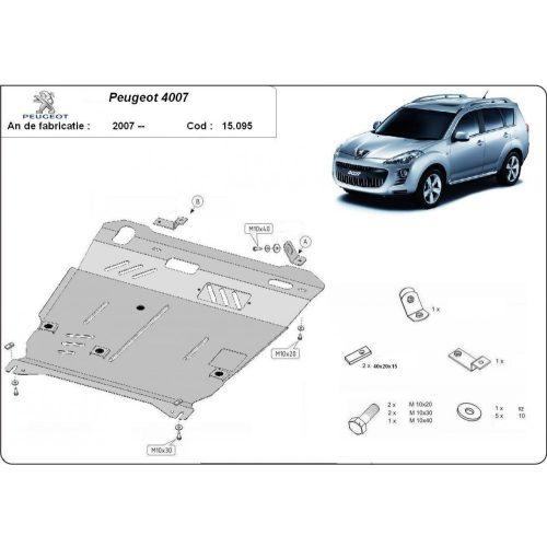 Peugeot 4007, 2007-2020 - Motorvédő lemez