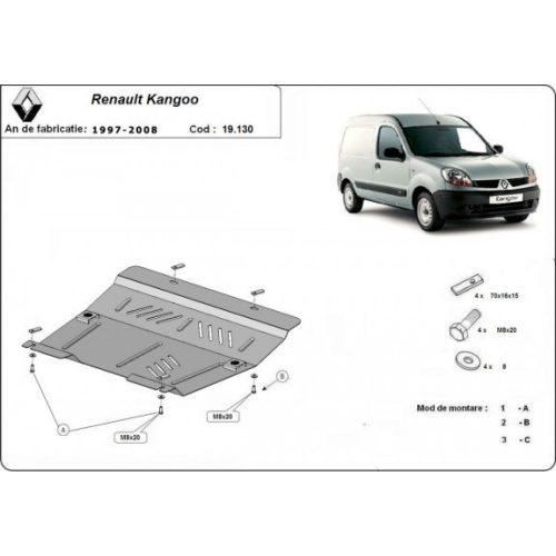 Renault Kangoo, 1997-2008 - Motorvédő lemez