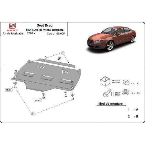 Seat Exeo, 2009-2020 - Acél AUTOMATA váltóvédő lemez