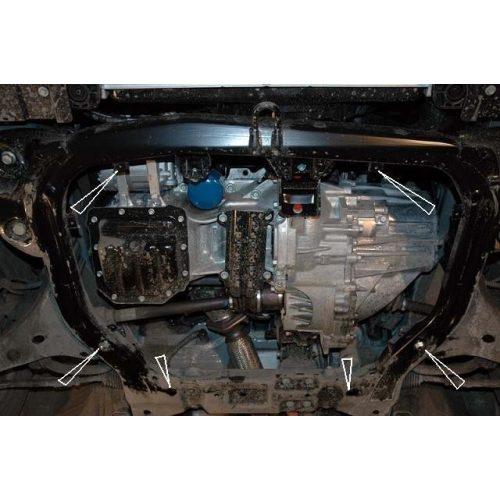 Kia Ceed, 2007-2011 - Motorvédő lemez