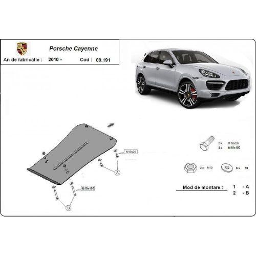 Porsche Cayenne, 2010-2018 - Váltóvédő lemez