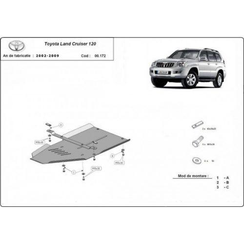 Toyota Land Cruiser 120, 2002-2009 - Váltóvédő lemez