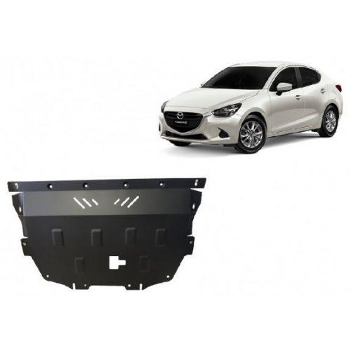 Mazda 2, 2014-2017 - Acél Motorvédő lemez