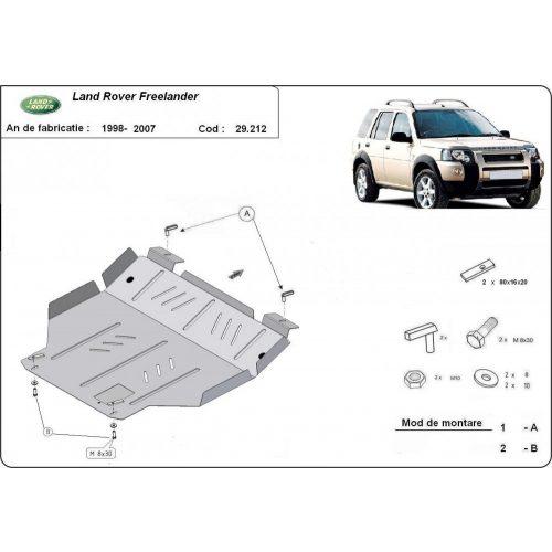 Land Rover Freelander, 1998-2007 - Motorvédő lemez