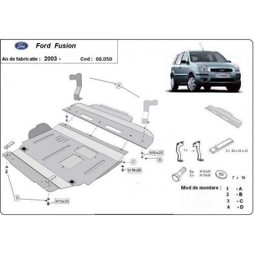 Ford Fusion, 2003-2020 - Motorvédő lemez