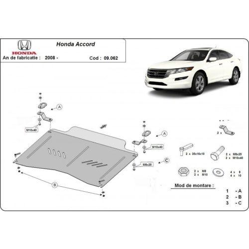 Honda Accord, 2008-2020 - Acél Motorvédő lemez