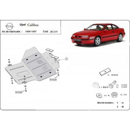 Opel Calibra, 1990-1997 - Acél Motorvédő lemez