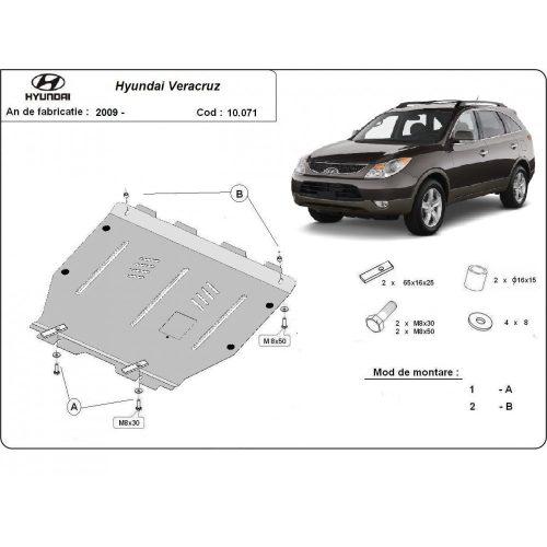 Hyundai Veracruz, 2009-2020 - Motorvédő lemez