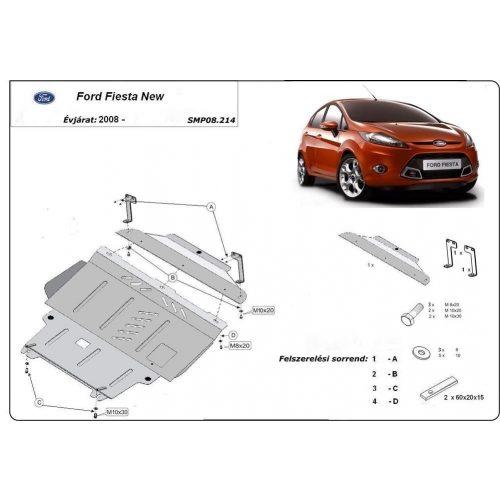 Ford Fiesta, 2008-2016 - Motorvédő lemez