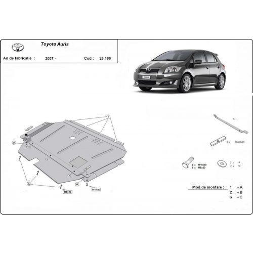 Toyota Auris, 2007-2020 - Motorvédő lemez