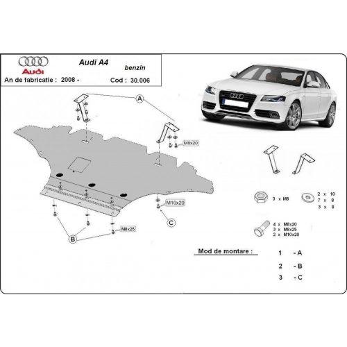 Audi A4 New, 2008-2014 - Motorvédő lemez