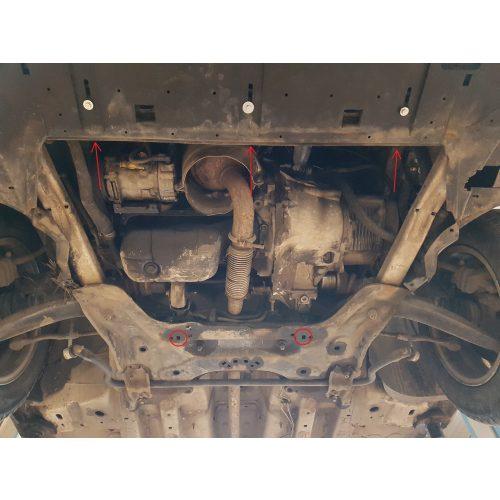Citroen C4, 2008-2014 - Motorvédő lemez