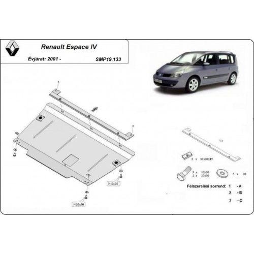 Renault Espace IV, 2001-2020 - Motorvédő lemez