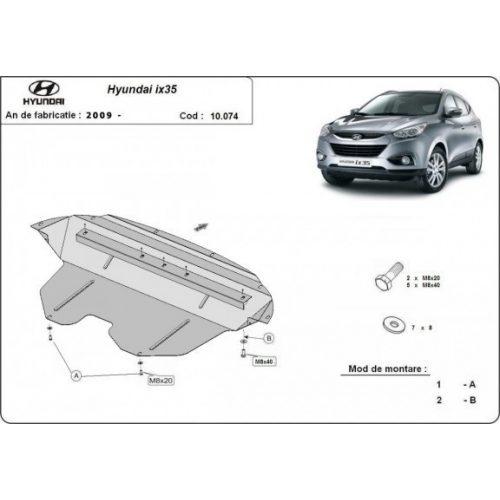 Hyundai IX35 2009-2020 - Acél Motorvédő lemez