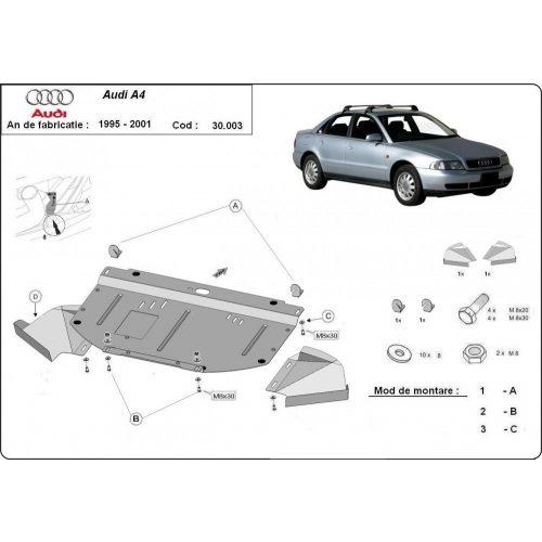 Audi A4, 1995-2000 - Motorvédő lemez