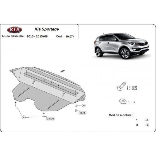 Kia Sportage, 2011-2015 - Acél Motorvédő lemez