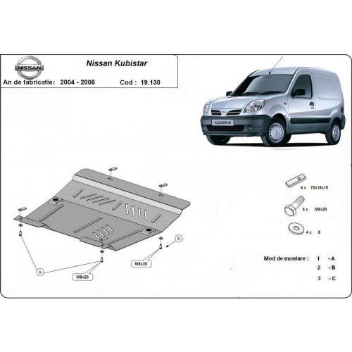 Nissan Kubistar, 2004-2008 - Acél Motorvédő lemez