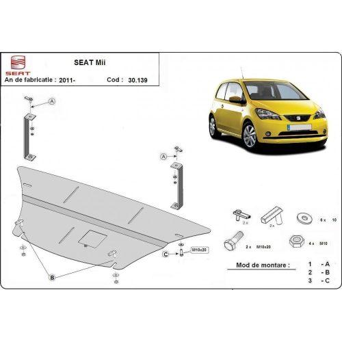 Seat Mii, 2011-2020 - Motorvédő lemez