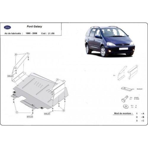 Ford Galaxy, 1995-2006 - Acél Motorvédő lemez