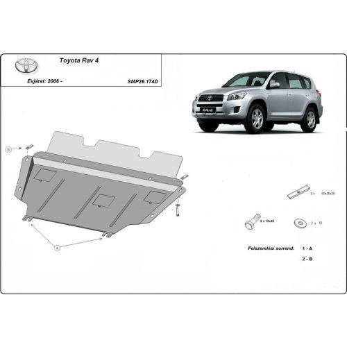 Toyota Rav4 dízel, 2006-2013 - Acél Motorvédő lemez
