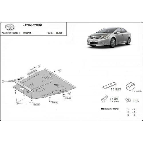 Toyota Avensis 2008-2020 - Motorvédő lemez